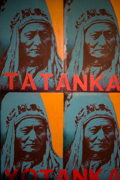 Native American pop art
