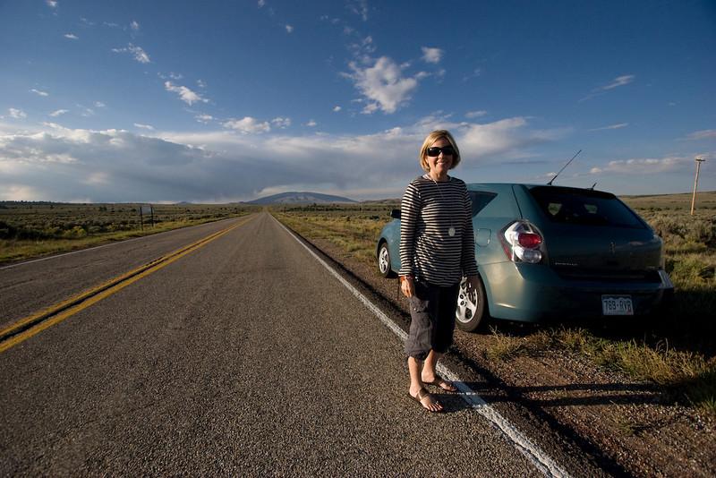 Road leading to Colorado