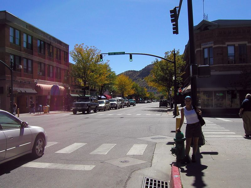 Main St Durango