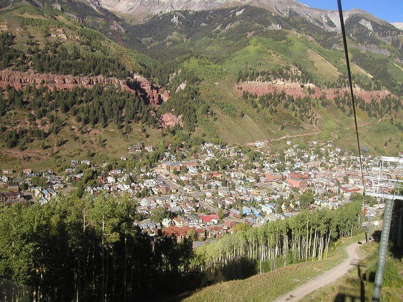 Telluride from top of Gondola