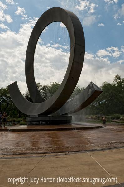 Penrose Fountain at Centennial Park in Colorado Springs