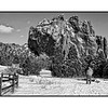 Snow in the Garden of the Gods near Colorado Springs; detail is best viewed in the largest sizes