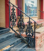 Wrought Iron Railing in Manitou Springs