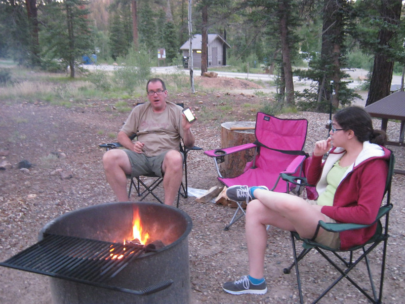 We camped at DeMotte campground north of GCNP. Bought some firewood from the camp hosts.
