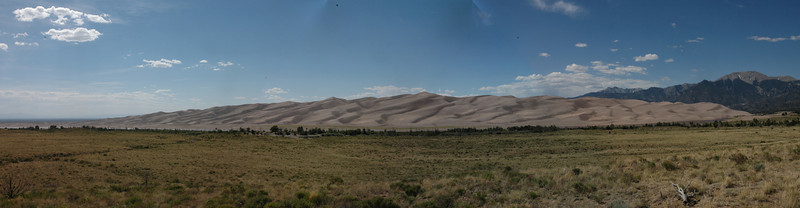 Panorama of Sand Dunes<br /> Great Sand Dunes National Park