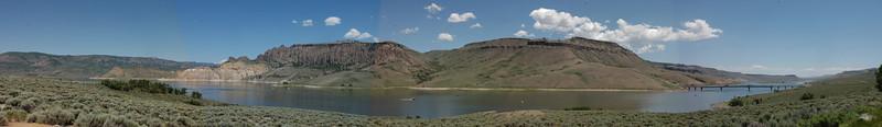 Panorama at Curecanti National Recreation Area