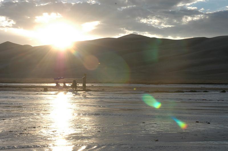 Sunset<br /> Great Sand Dunes National Park