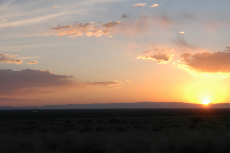 Sunset<br /> Leaving the Great Sand Dunes National Park