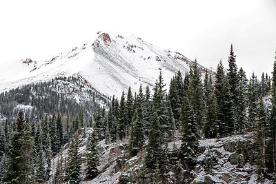 Snow in Colorado in middle of October