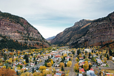 Town of Ouray in Colorado