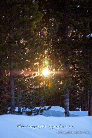 Colorado Winter Scenery