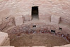 This is a Kiva - a circular hole in the ground that would have been covered.