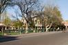 Square in downtown Santa Fe