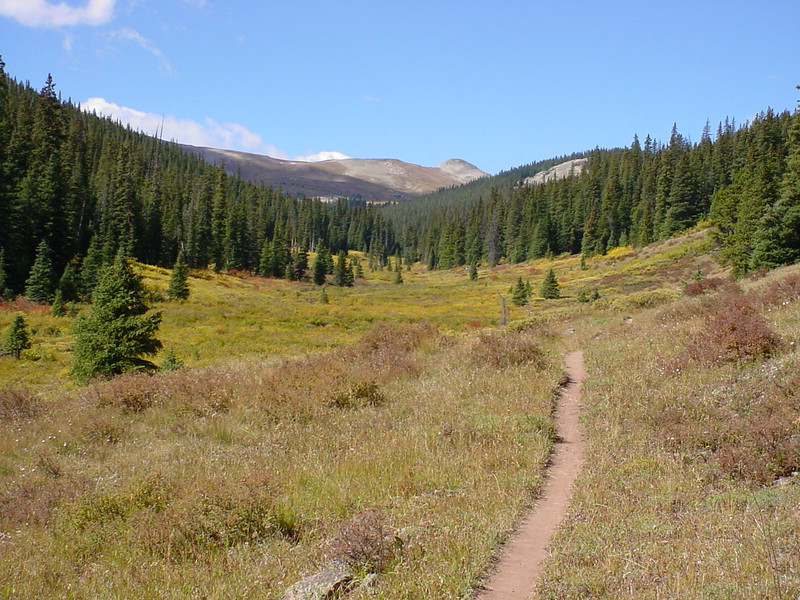 searle pass, colorado trail, mountain biking, copper mountain 2005