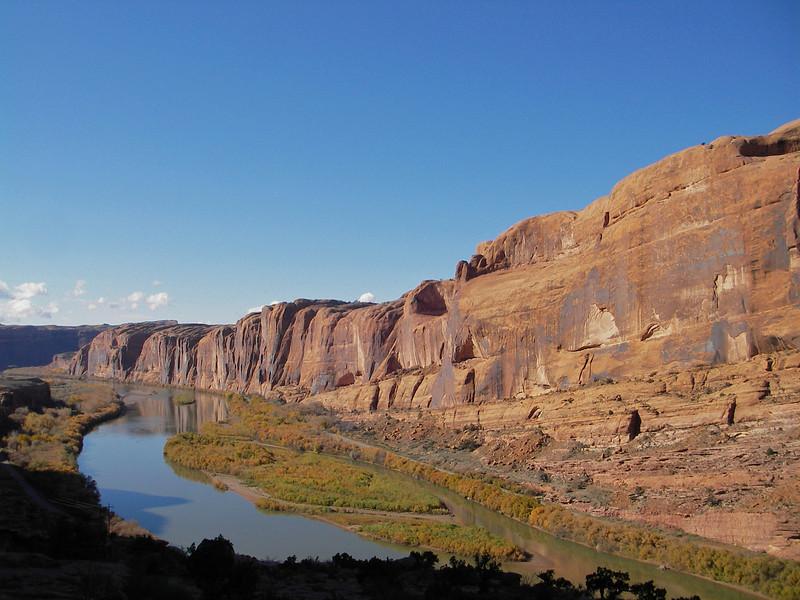 Fall along the Moab Rim Trail - 2006