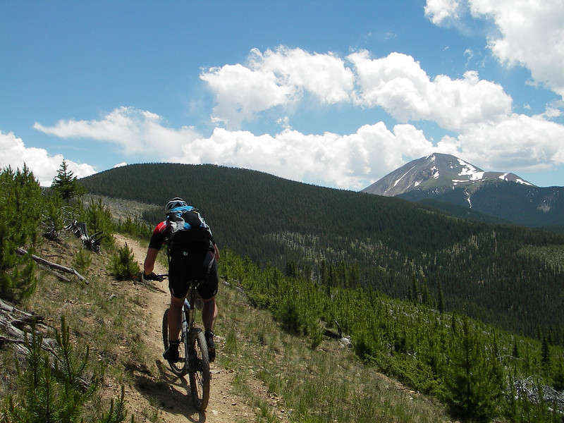 colorado trail, kenosha to breckridge, mountain biking