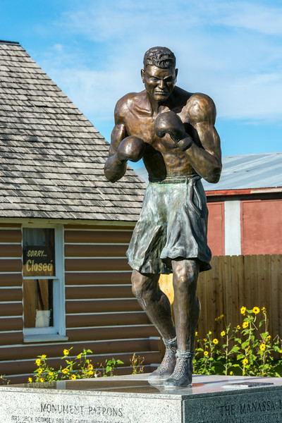 """Located in Manassa, Colorado<br /> Home of Jack Dempsey (The Manassa Mauler) – world heavyweight boxing champ from 1919 thru 1926.  <a href=""""http://en.wikipedia.org/wiki/Jack_Dempsey"""">http://en.wikipedia.org/wiki/Jack_Dempsey</a>"""