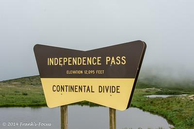 2014 Trip - Independence Pass to Alamosa