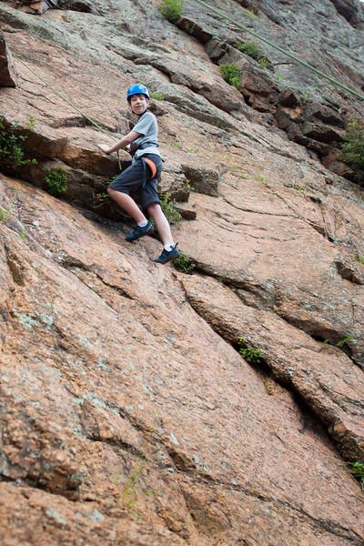 Erik at 25 feet up