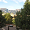 From our hotel outside Boulder