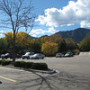 Taken from shopping ctr. parking lot in Boulder