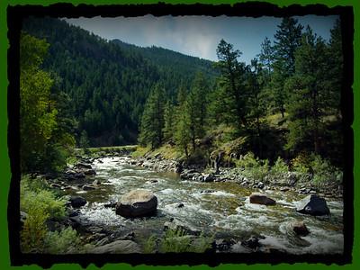 Poudre Canyon - Cache le Poudre River  2005/2011