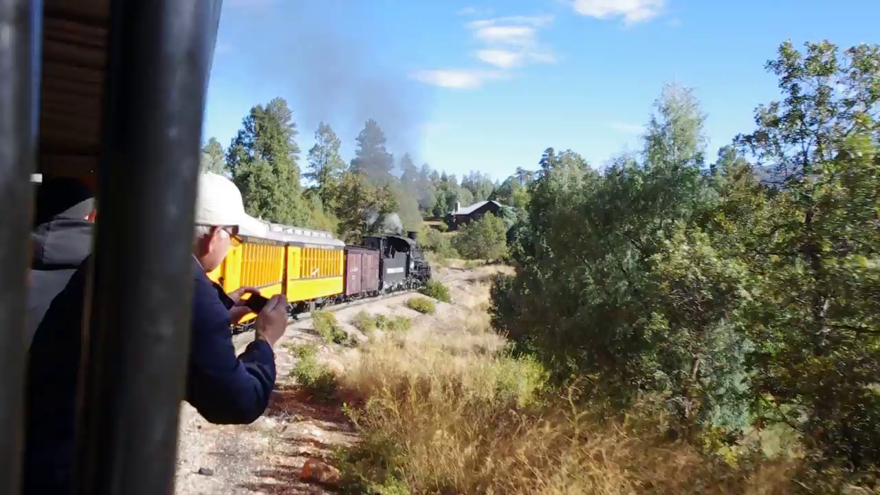 Durango train video