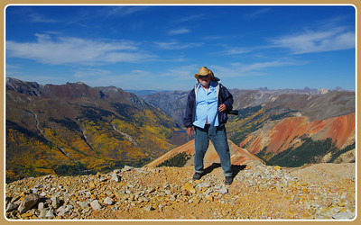 On top of Red MT #3 -  Ouray Hilites