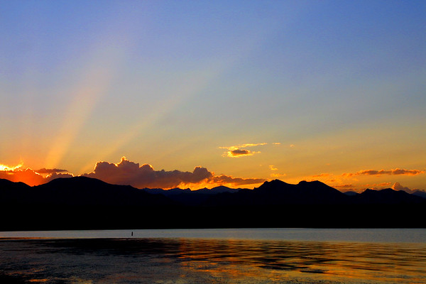 Colorado Sunset, Standley Lake, Westminster, CO