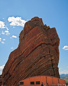 Red Rock Park & Ampitheatre outside of Denver, CO