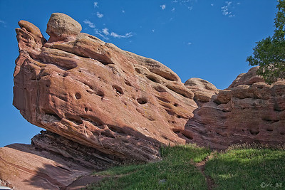 Rock formation in Denver