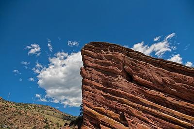 Red Rock Park & Ampitheatre outside of Denver, CO