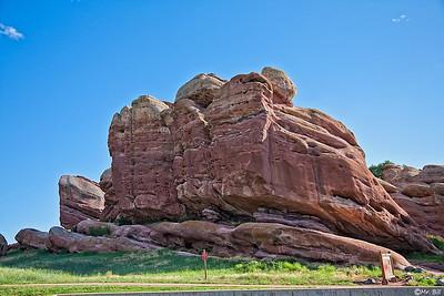 Rock formation in Denver