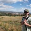 Chatagua Park heading up to Flatirons Hike. Red building in background - CU
