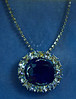 The Hope Diamond - A replica made during time the original was owned by Evelyn Walsh McLean