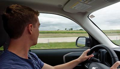 Driving - Iowa Corn Field - Jack