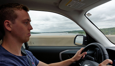 Driving - Crossing the Mississippi River - Jack