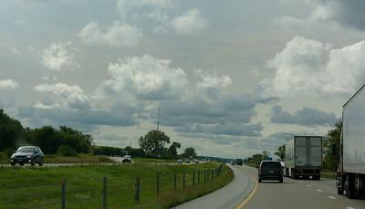 Driving - Sky Along I-80