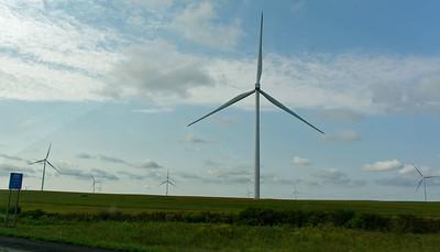 Driving - Iowa Windmills (1)