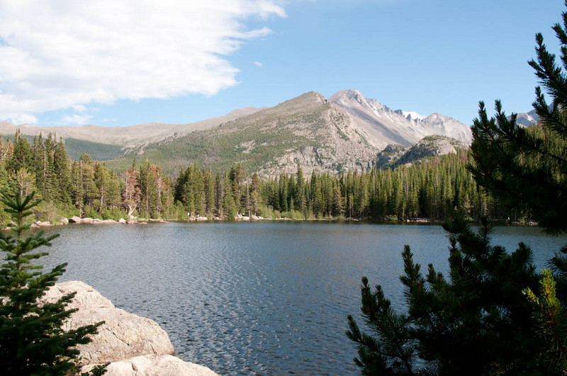 Bear Lake in Rocky Mountain Natl Park