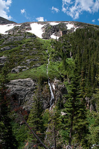 Rocky Mountain Natl Park waterfall