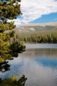 View of Bear Lake in Rocky Mountain Natl Park