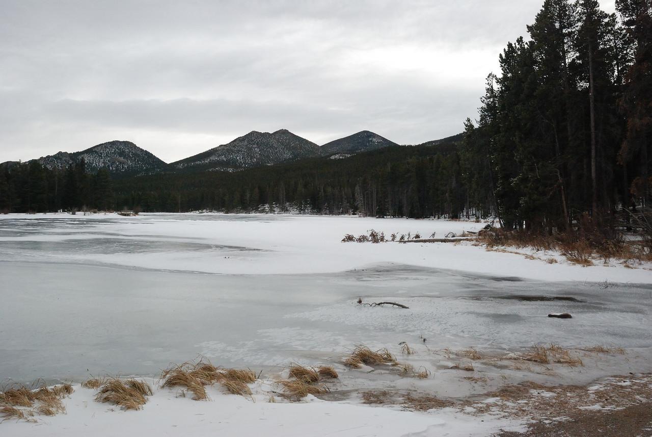 Sprague Lake in RMNP 122008