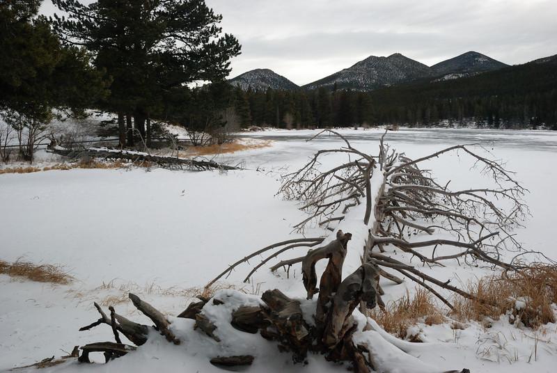 Sprague Lake at RMNP 122008