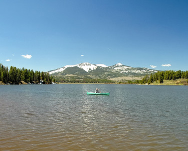 Steamboat Lake Canoe