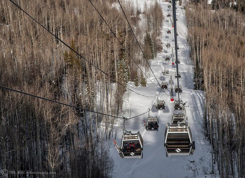 Ski lift @ Vail, Co