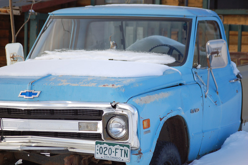 An old Chevy Truck, Crested Butte, CO
