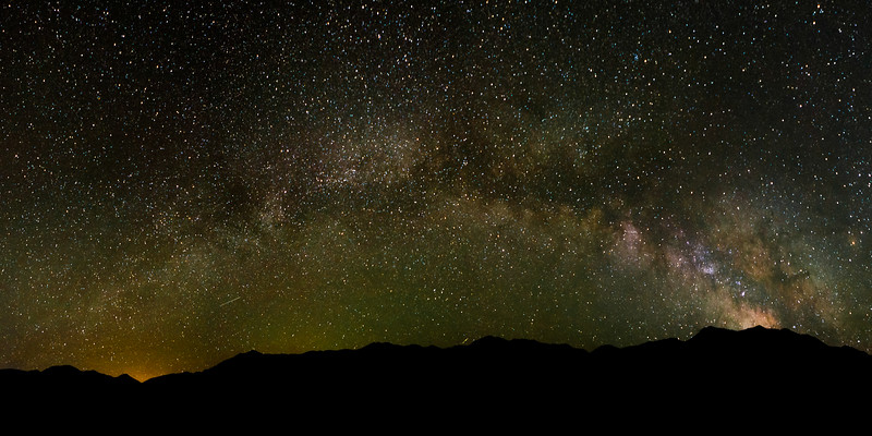 Milky Way over the Great Sand Dunes of Colorado