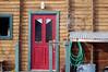 Door and Bike Wheel, Crested Butte, CO