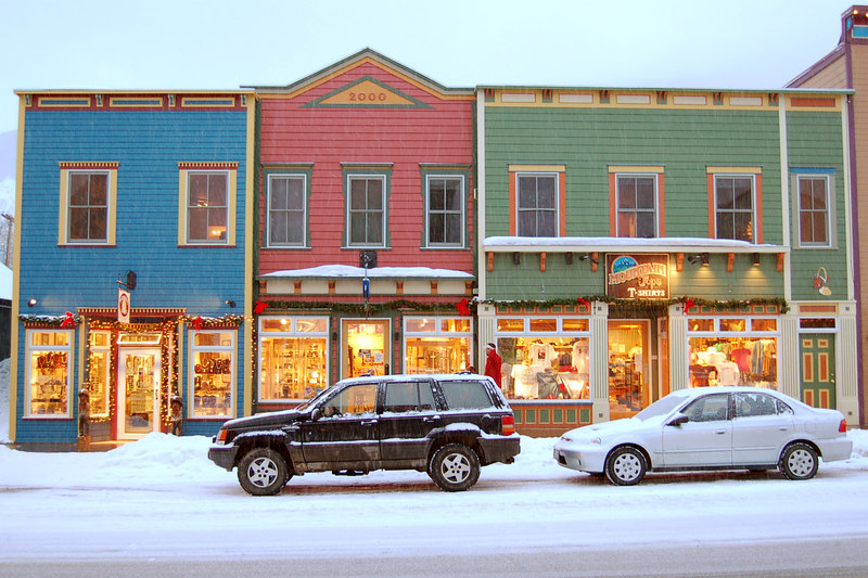 Shops on Elk Ave, Crested Butte, CO